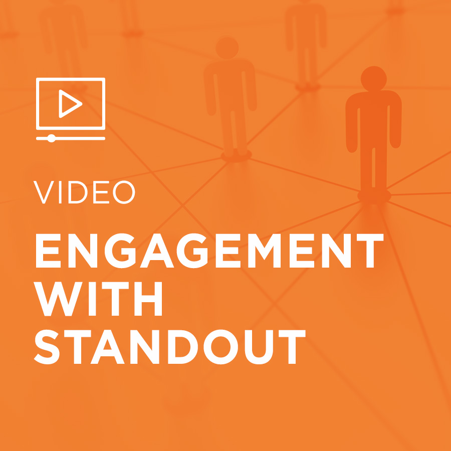 Image for Engagement With StandOut portfolio entry