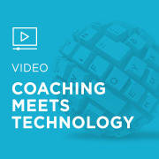 Image for Coaching Meets Technology portfolio entry