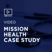 Image for Mission Health Case Study portfolio entry