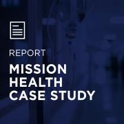 Image for Mission Health Case Study portfolio entry
