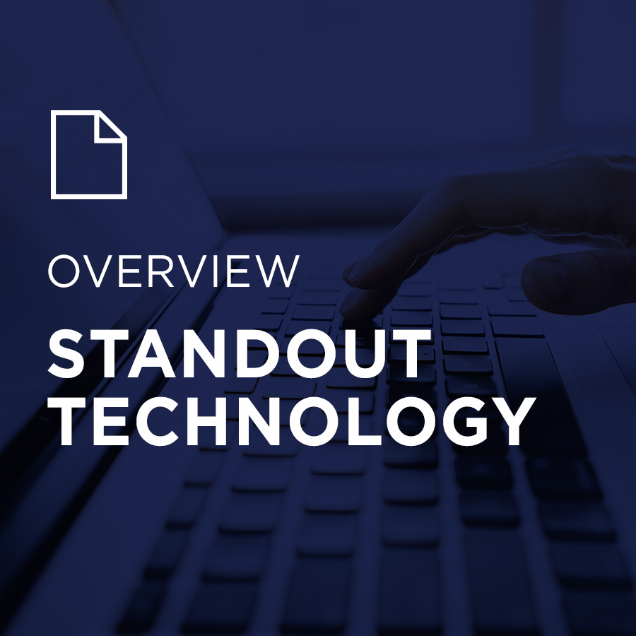 Image for StandOut Technology Overview portfolio entry