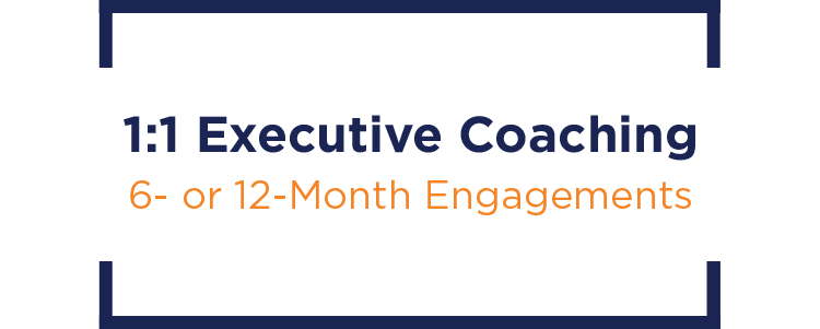Title image for 1:1 Executive Coaching.
