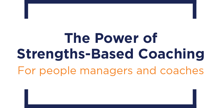 The Power of Strengths-Based Coaching image featured on Keynotes page.
