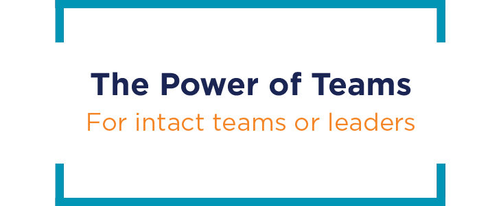 The Power of Teams image featured on Keynotes page.