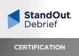 Image of StandOut Debrief Certification workshop.